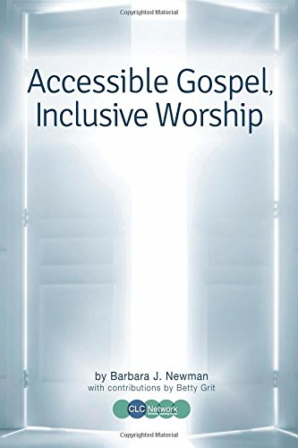 Cover of Accessible Gospel, Inclusive Worship
