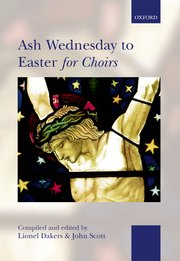 Cover of Ash Wednesday to Easter for Choirs