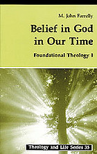 Cover of Belief in God in our time