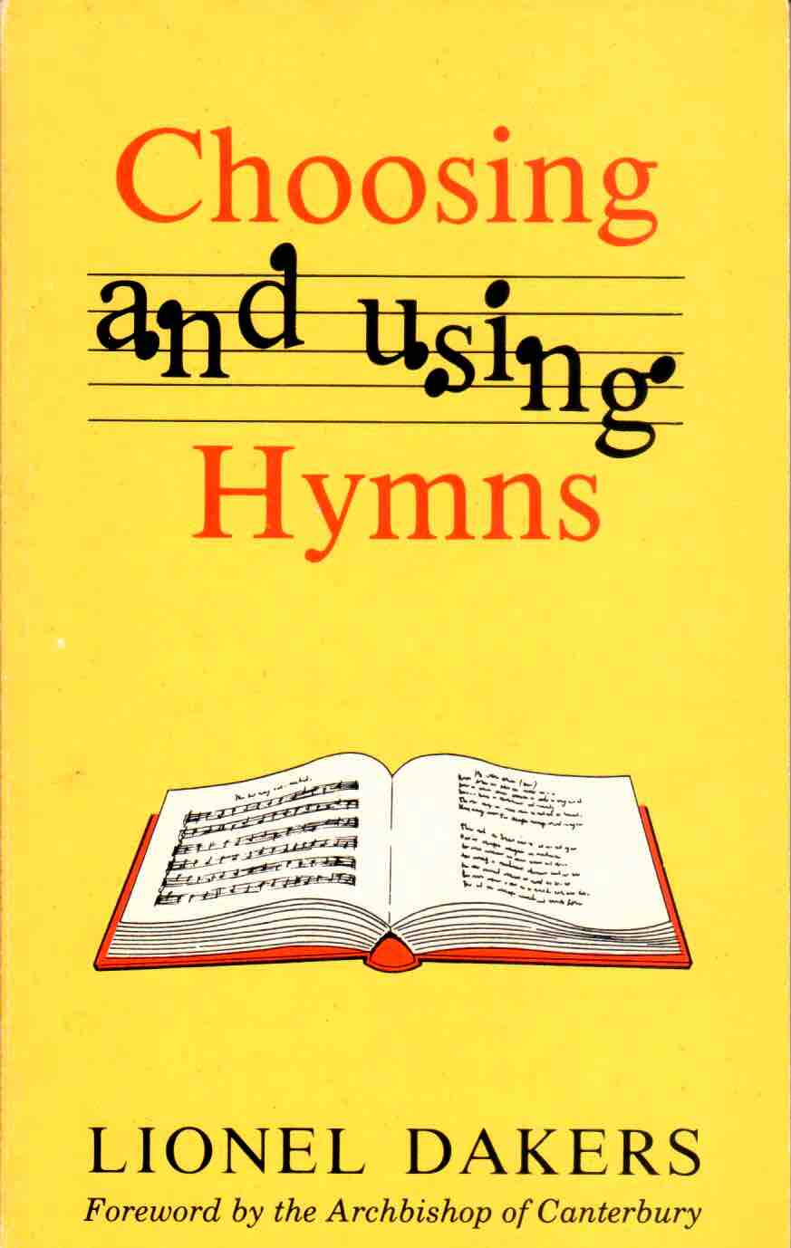 Cover of Choosing and Using Hymns