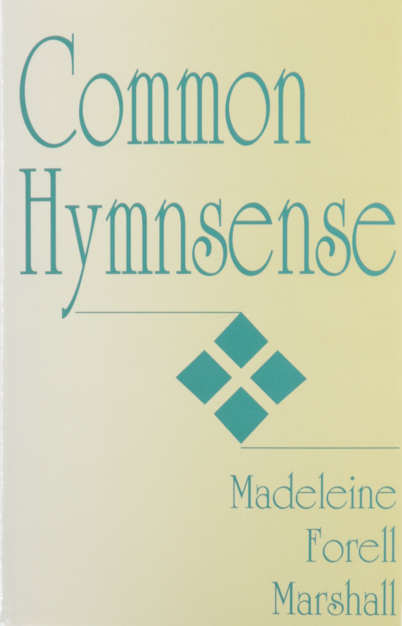 Cover of Common Hymnsense