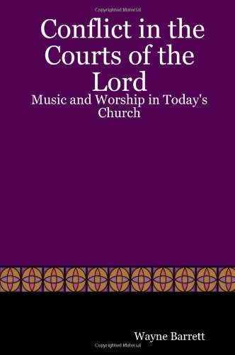 Cover of Conflict in the Courts of the Lord