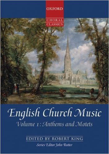 Cover of English Church Music: Anthems and Motets