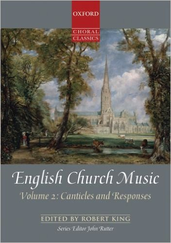 Cover of English Church Music: Canticles and Responses