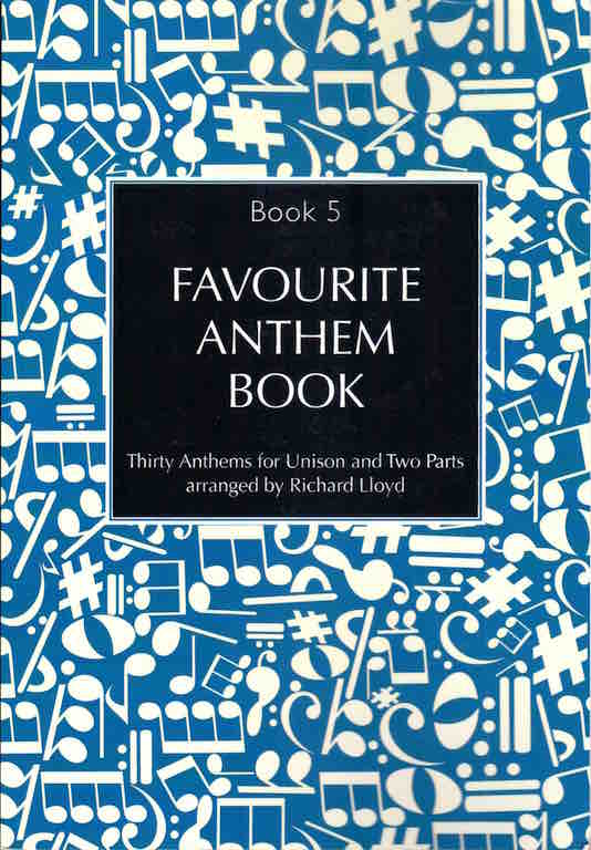 Cover of Favourite Anthem Book
