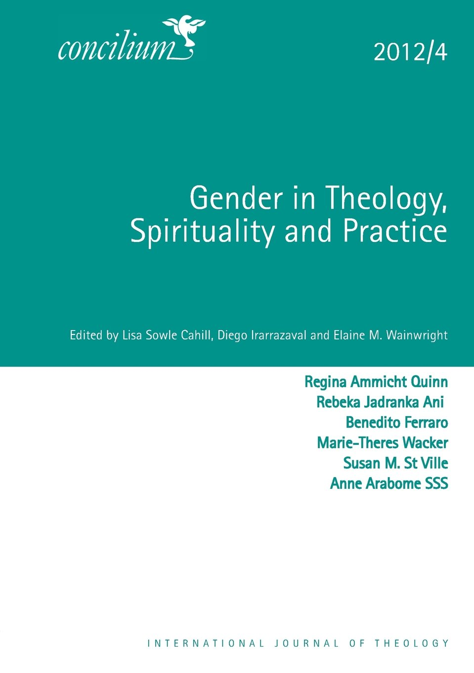 Cover of Gender in Theology, Spirituality and Practice