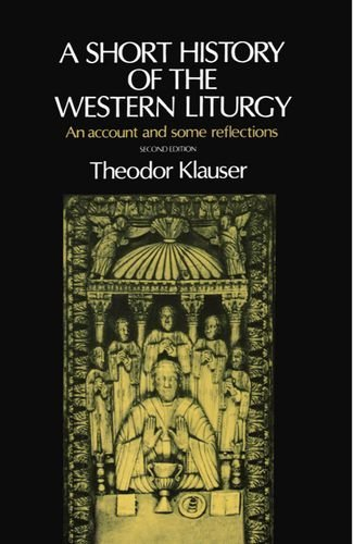 Cover of A Short History Of The Western Liturgy