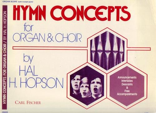 Cover of Hymn Concepts for Organ and Choir