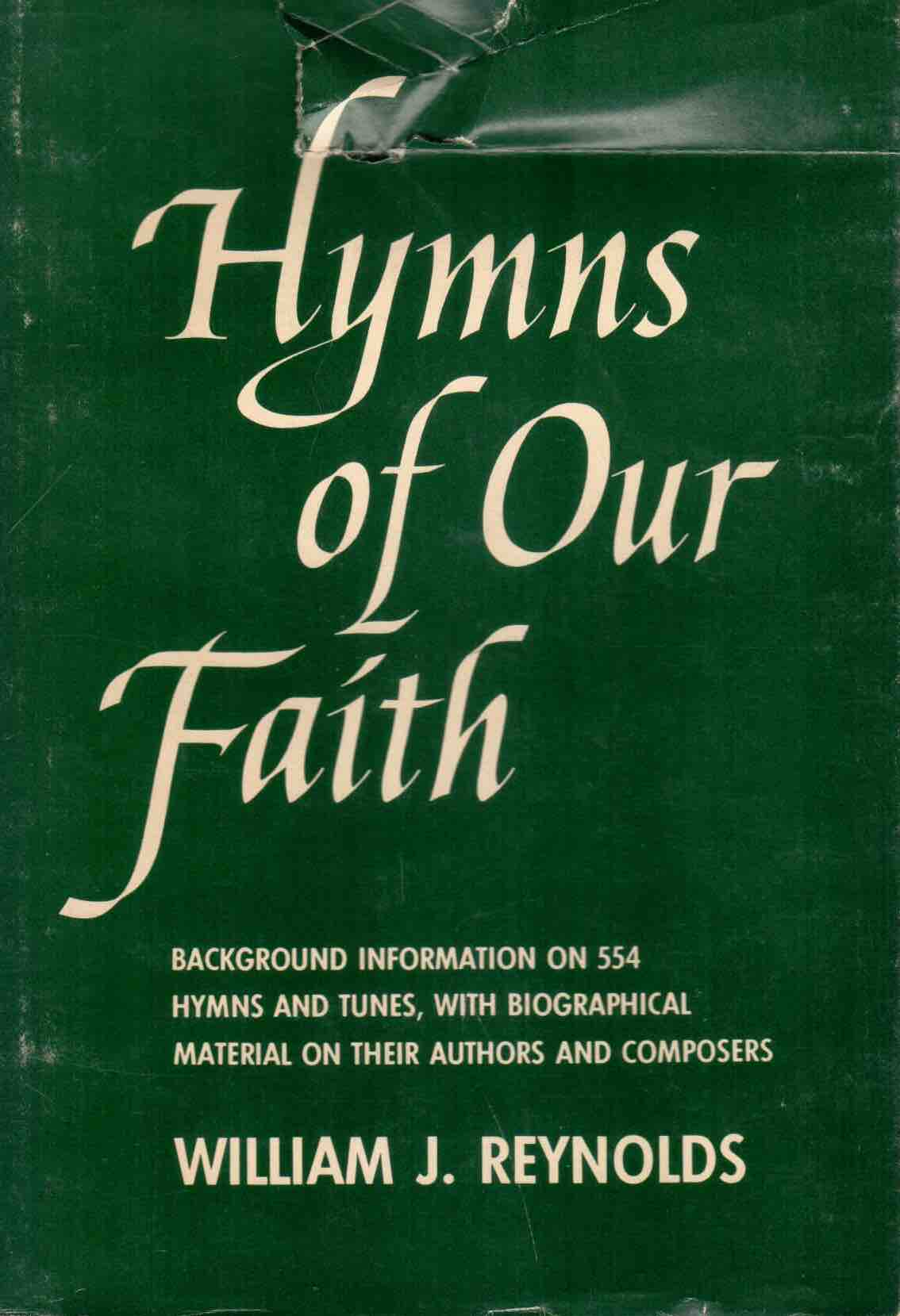 Cover of Hymns of Our Faith