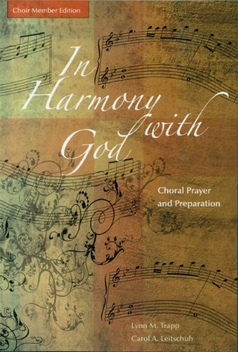 Cover of In Harmony with God: Choir Member Edition