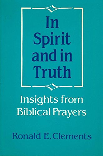 Cover of In Spirit and in Truth