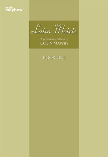 Cover of Latin Motets