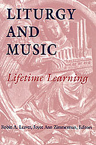 Cover of Liturgy and Music