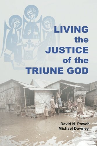 Cover of Living the Justice of the Triune God