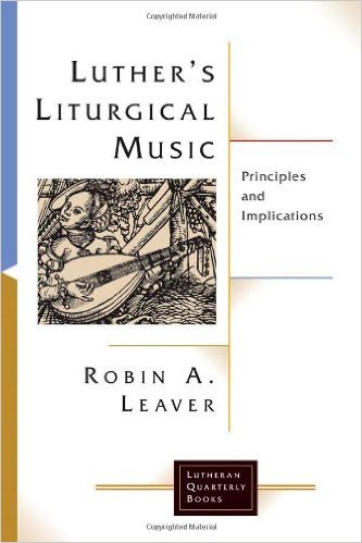 Cover of Luther's Liturgical Music