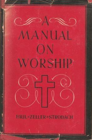 Cover of A manual on worship