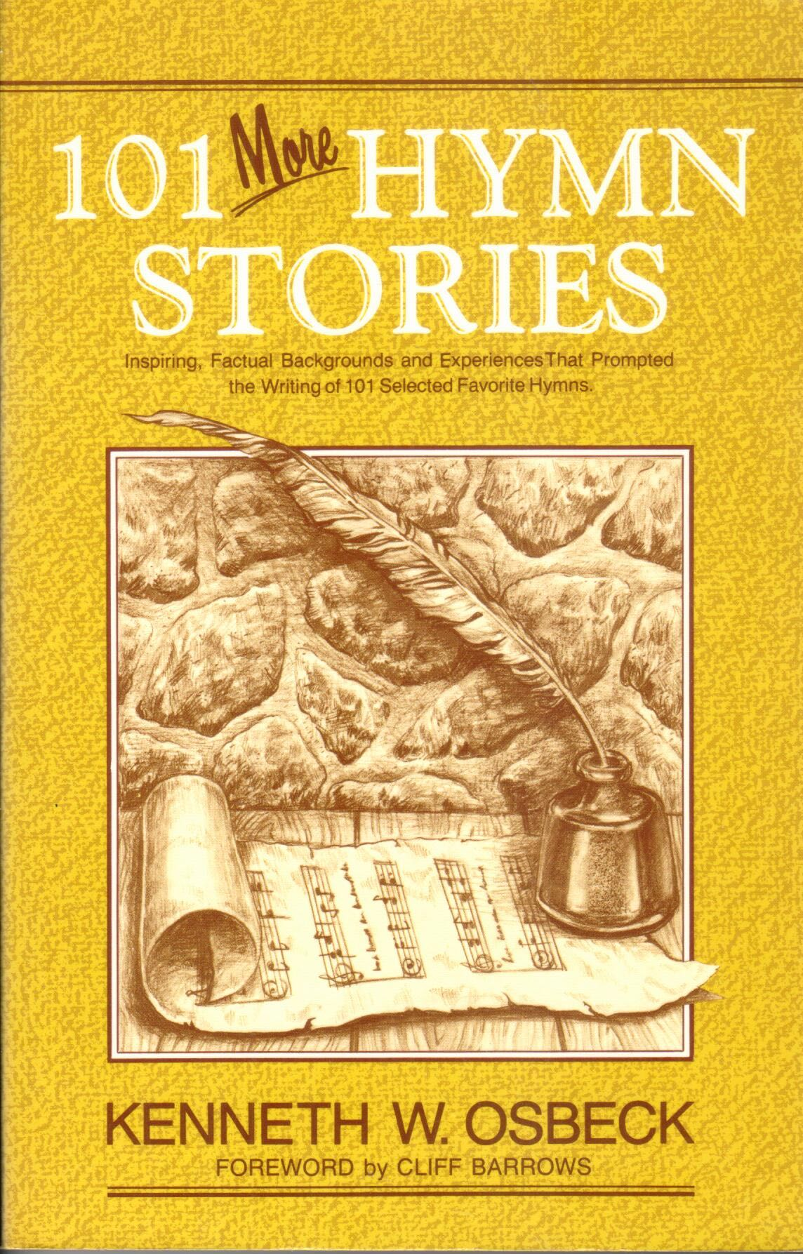 Cover of 101 More Hymn Stories