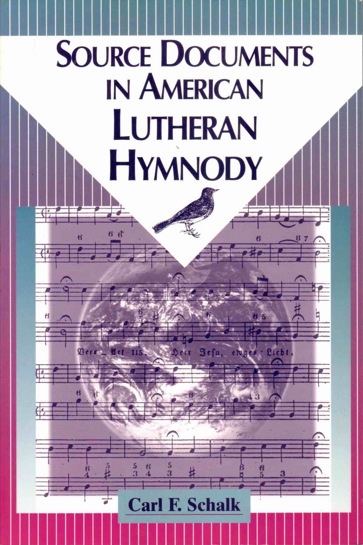 Cover of Source Documents in American Lutheran Hymnody