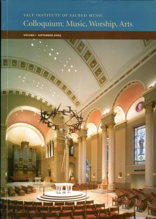 Cover of Colloquium: Music, Worship, Arts Vol. 1 September 2004