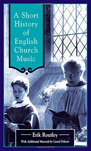 Cover of A Short History of English Church Music