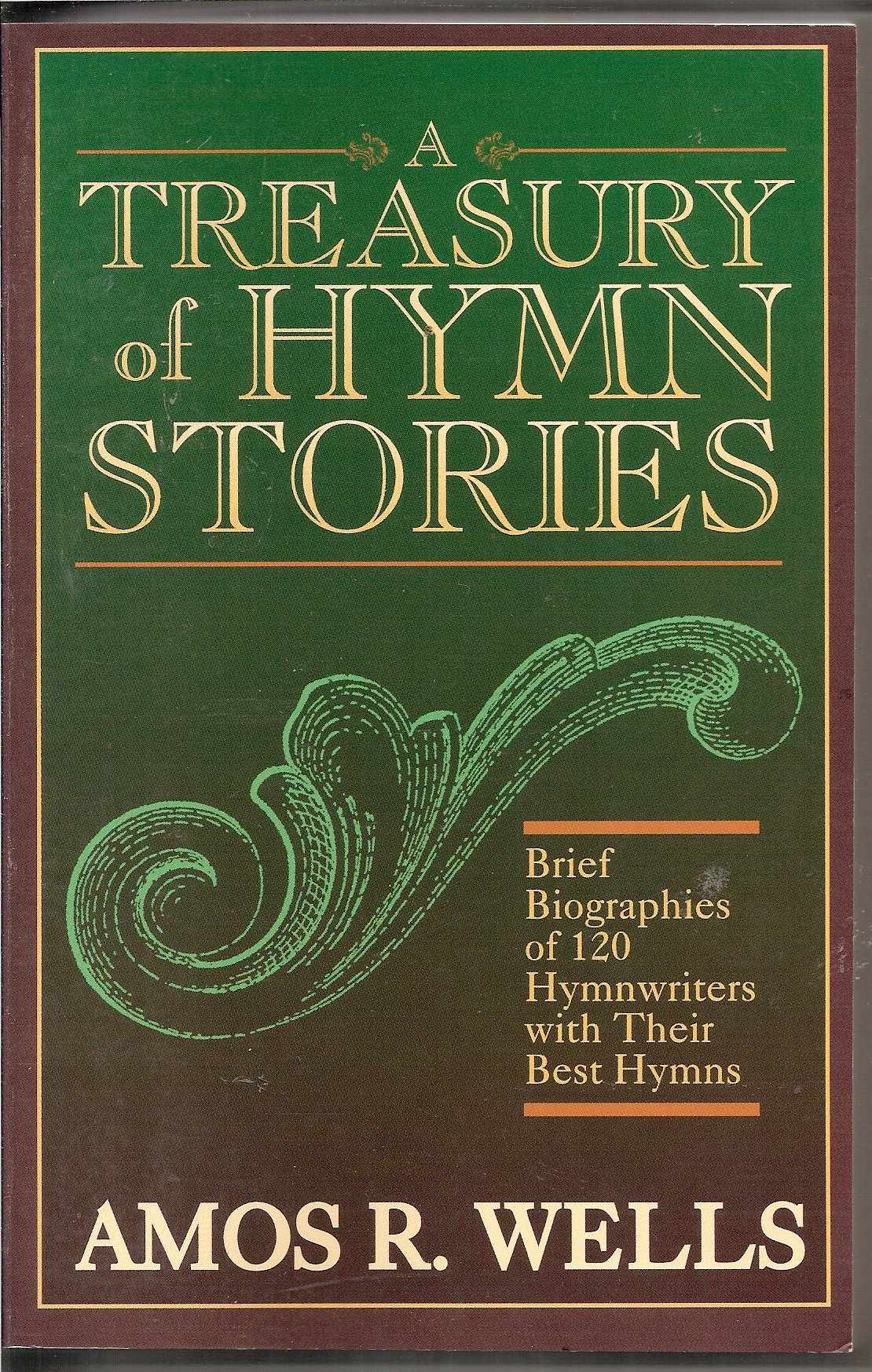 Cover of A Treasury of Hymn Stories