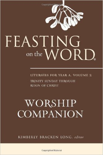 Cover of Feasting on the Word Worship Companion