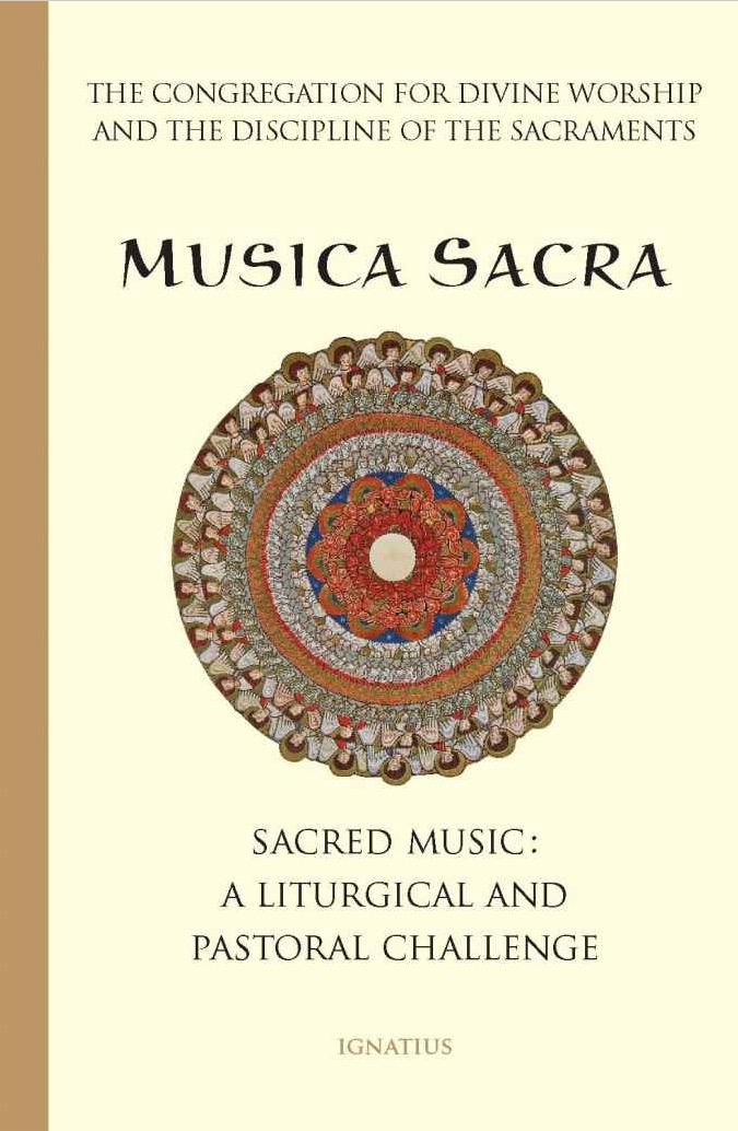 Cover of Musica Sacra: Music at Mass