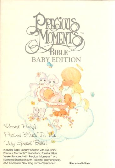 Precious Moments Bible Baby Edition